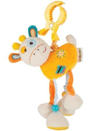 """Развивающая игрушка Жирафики Подвеска с вибрацией """"Жирафик Дэнни"""" 939363"""
