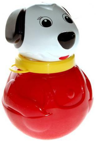 Неваляшка Stellar Собачка 18 см, 1607 развивающие игрушки стеллар неваляшка малая собачка бим