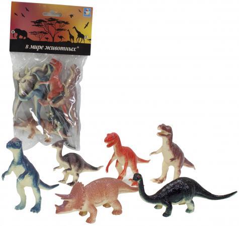 1toy В мире животных наб.игр.динозавров 6 шт х 10 см. в упаковке ПВХ с хедером 1toy в мире животных наб игр животных 6 шт х 15 см в упаковке пвх с хедером