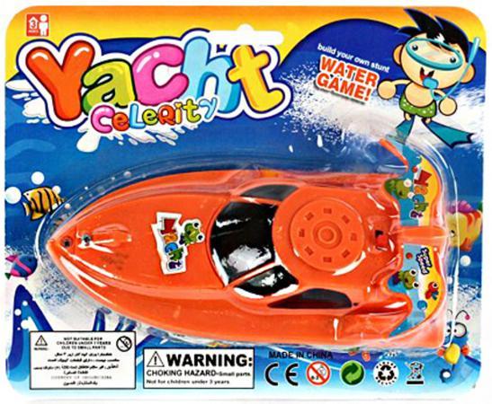 Катер Shantou Gepai Celerity 15 см цвет в ассортименте 311-66 happy baby happy baby развивающая игрушка руль rudder со светом и звуком