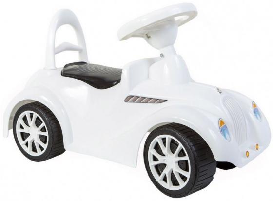 Купить ОР900 Каталка машинка Ретро с клаксоном белая, RT, Игрушки