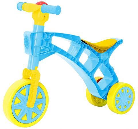 ОР171 Каталка-беговел Самоделкин 3 колеса с клаксоном бирюзовая rt rt беговел каталка самоделкин красный