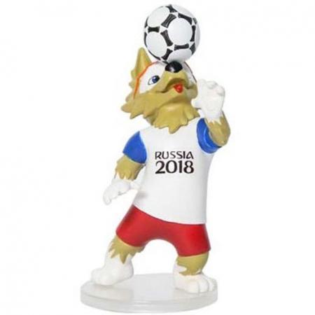 Фото - Фигурка FIFA 2018 Волк Забивака 9 см Т11672 fifa 2018 мягк шапка волк забивака детская р р 50 52 бирка пакет