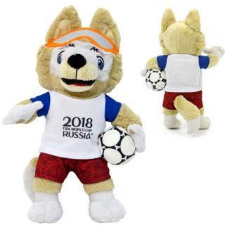Фото - Фигурка FIFA 2018 Волк Забивака 21 см Т11250 fifa 2018 мягк шапка волк забивака детская р р 50 52 бирка пакет