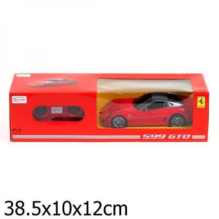 МАШИНА Р/У RASTAR FERRARI 599 GTO 1:24, ЦВЕТ В АССОРТ. В КОР. в кор.18шт rastar rastar радиоуправляемая машина ferrari 458 speciale a масштаб 1 24 цвет в ассортименте