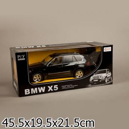 МАШИНА Р/У RASTAR BMW X5 1:14 СО СВЕТОМ, ЦВЕТ В АССОРТ. В КОР. в кор.6шт