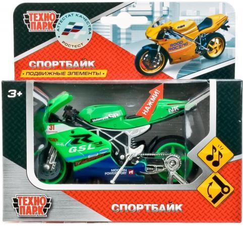 Мотоцикл Технопарк МОТОЦИКЛ зеленый 532116-R цены