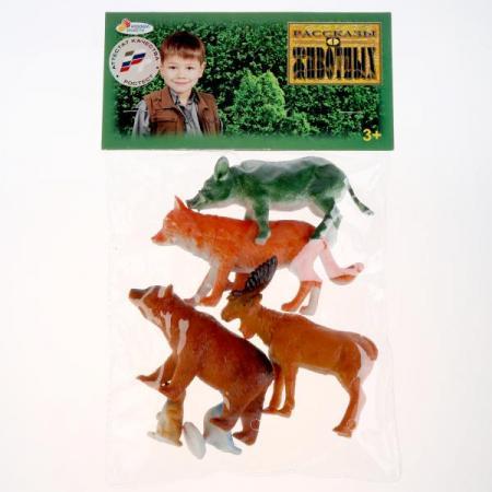 Набор из 6-и лесных животных играем