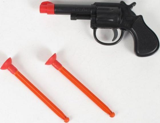 ПИСТОЛЕТ СПЕЦАГЕНТ СО СТРЕЛАМИ НА ПРИСОСКАХ в кор.24шт игрушка пистолет спецагент со стрелами на присосках