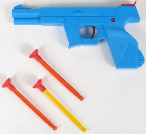 ПИСТОЛЕТ СПЕЦНАЗ СО СТРЕЛАМИ НА ПРИСОСКАХ в кор.12шт игрушка пистолет спецагент со стрелами на присосках