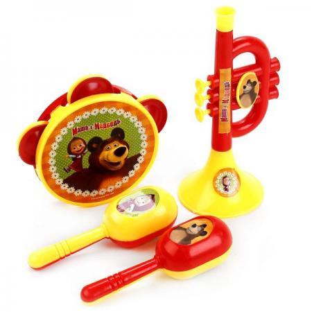 НАБОР МУЗЫКАЛЬНЫХ ИНСТРУМЕНТОВ ИГРАЕМ ВМЕСТЕ МАША И МЕДВЕДЬ В ПАК. (РУСС. УП.) в кор.2*90шт набор музыкальных инструментов играем вместе маша и медведь b226345 r2