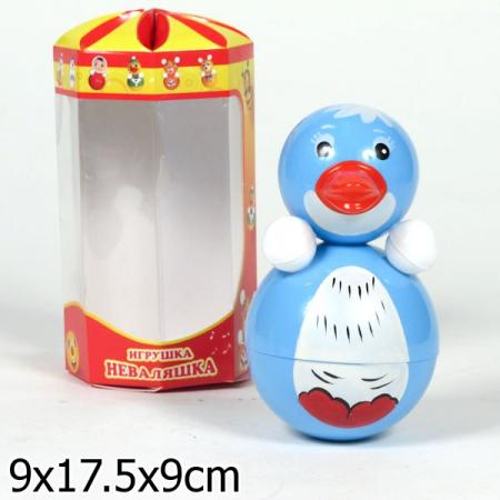 Купить Неваляшка Неваляшки-Котовск Пингвин 15 см, звук, 6с-0013, Игрушки
