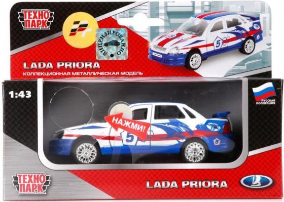 Автомобиль Технопарк ЛАДА-ПРИОРА 1:43 разноцветный CT12-440-6