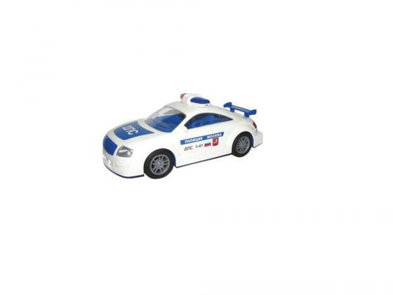 Полицейская машина Полесье ДПС Москва инерционная 1 шт 28 см белый 37039 машина инерционная молния