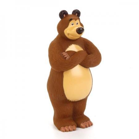 ФИГУРКА ДЛЯ ВАННОЙ ИГРАЕМ ВМЕСТЕ МАША И МЕДВЕДЬ МЕДВЕДЬ В СЕТКЕ (РУСС. УП.) в кор.72шт игрушки для ванной играем вместе маша и медведь м ф маша и медведь в сетке в кор 2 25шт