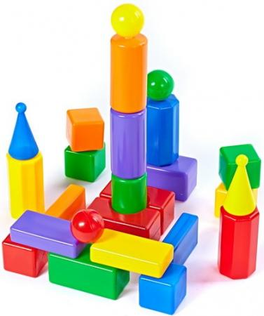 Купить Набор Строим вместе Стена-2 25 шт 5246, Игрушки
