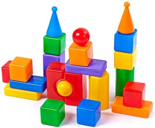 Купить Набор Строим вместе Стена-2 22 шт 5245, Игрушки