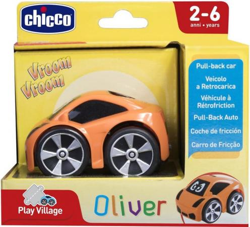 Мини-машинка Chicco Turbo Touch Oliver {оранжевый} chicco мини гольф клуб