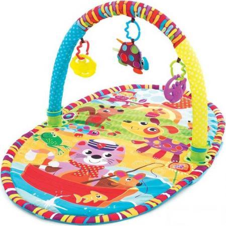 Развивающий коврик Playgro активный центр Прогулка 0184213 центр развивающий alex призма