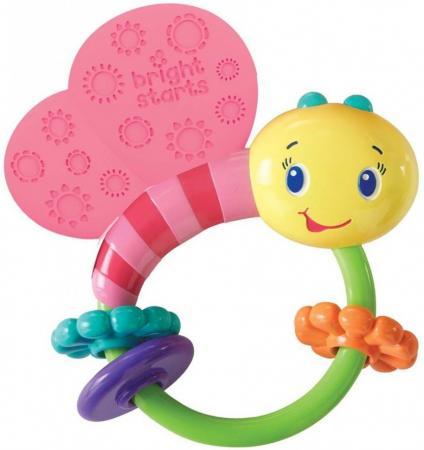 Развивающая игрушка-погремушка Bright Starts Розовая бабочка , Игрушки  - купить со скидкой