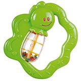 Купить Погремушка Canpol Улитка/бабочка, 0+ мес., арт. 2/874, цвет: зеленый, форма: бабочка, Игрушки