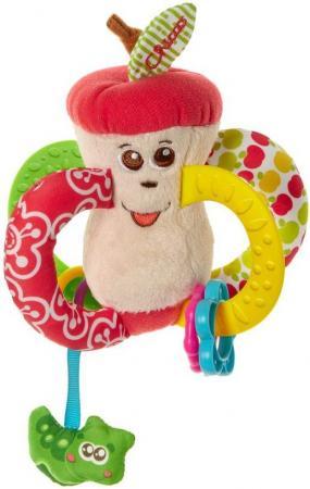 Игрушка-погремушка Chicco Вкусное яблочко chicco chicco детская погремушка мягкая щенок