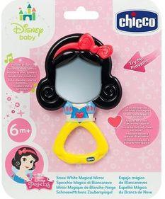 Купить Игрушка-погремушка Chicco Волшебное зеркальце Белоснежки (свет, звук), Игрушки