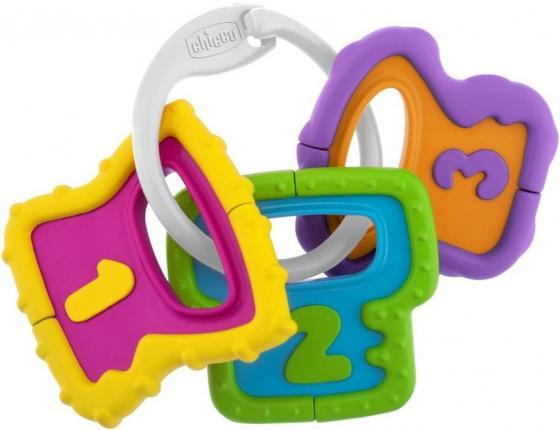 Игрушка-погремушка Chicco Ключики игрушка для ванной chicco 100004