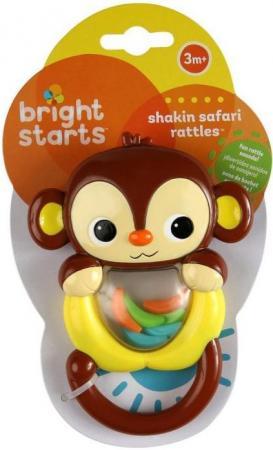 Погремушка Bright Starts Сафари обезьянка bright girl bright girl br029ewiit29