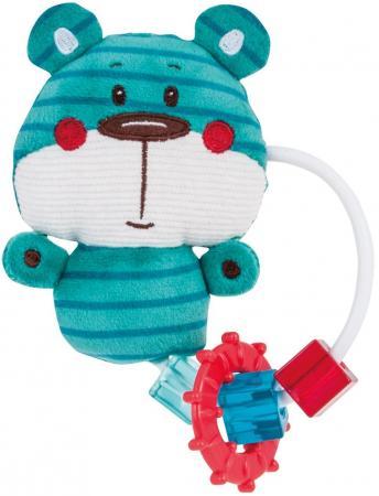 Игрушка-погремушка с прорезывателем Canpol Forest Friends арт. 68/046, форма: медвежонок