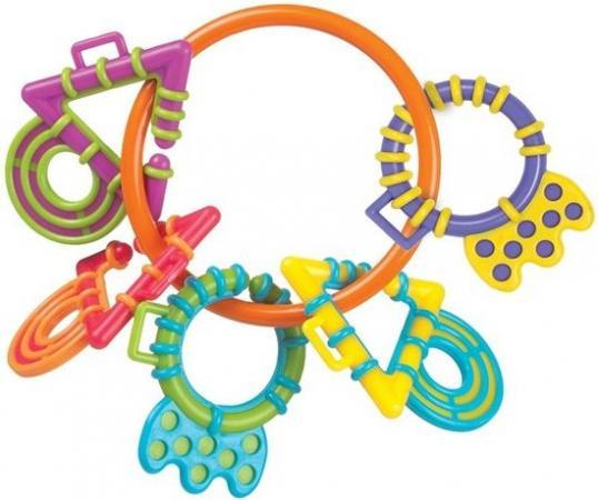 Купить Погремушка-прорезыватель Playgro (Плейгро) My First, Игрушки