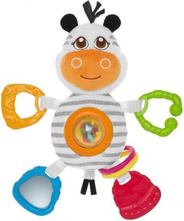 Игрушка-погремушка Chicco Зебра игрушка для ванной chicco 100004