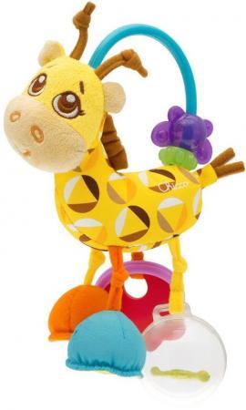 Игрушка-погремушка Chicco Жираф chicco chicco детская погремушка мягкая щенок