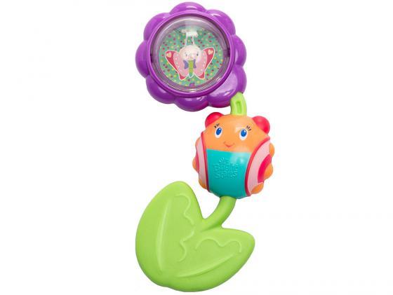 Игрушка-прорезыватель Bright Starts Божья коровка на цветочке с рождения разноцветный 9285 игрушка прорезыватель bright starts гусеничка оранжевая