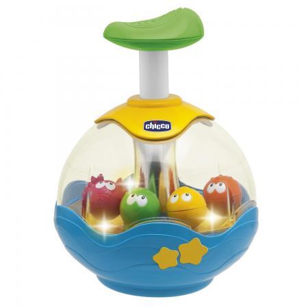 Игрушка Chicco Юла Aquarium 6+ chicco игрушка развивающая юла aquarium