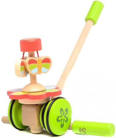 Деревянная игрушка Hape Каталка Бабочки в саду игрушка каталка жираф деревянная