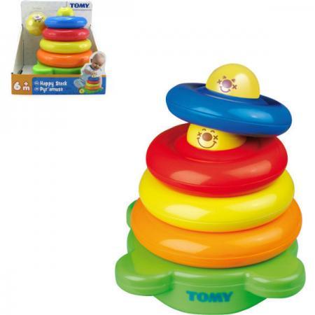 Веселая пирамидка Tomy tomy тракто farm с большими колесами
