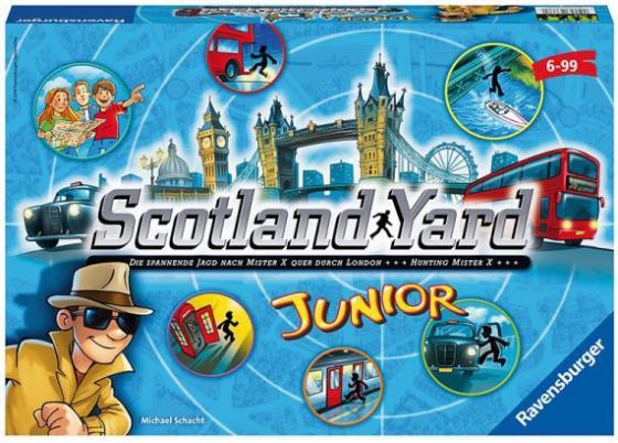 Настольная игра Ravensburger Скотланд ярд Джуниор игры для малышей ravensburger настольная игра лого зоо