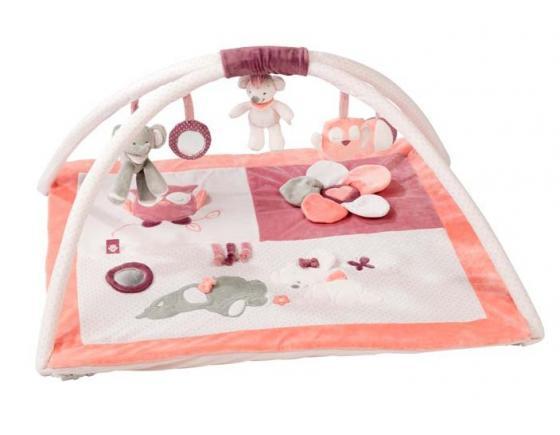 Игровой коврик Nattou Adele Valentine Слоник и Мышка 424240 коврик игровой nattou alex
