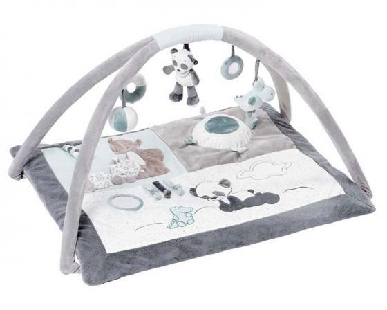 Купить Игровой коврик Nattou Loulou, Lea Hippolyte Панда, Леопард, Бегемот 963336, Игрушки