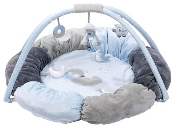 Купить Игровой коврик круглый Nattou Sam Toby Овечка и Собачка 604260, Игрушки