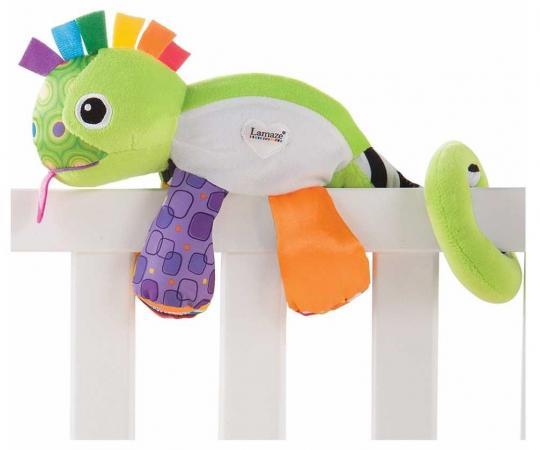 Ночник-игрушка Tomy Lamaze Хамелеончик игрушка tomy lamaze гусеница меняй и собирай l27244