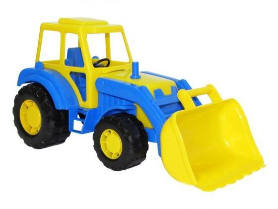 Полесье Трактор погрузчик Алтай полесье трактор алтай с прицепом 1 цвет желтый синий