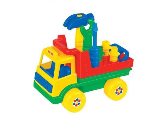 Полесье Автомобиль Техпомощь (в сеточке) 6387 автомобиль самосвал полесье жёлтый в сеточке констрак 0407