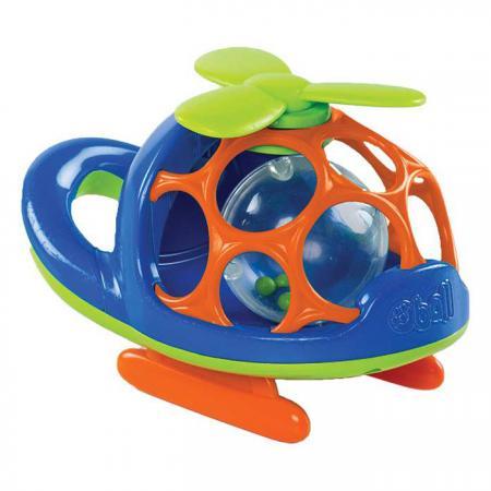 Вертолёт Oball цвет синий погремушка oball