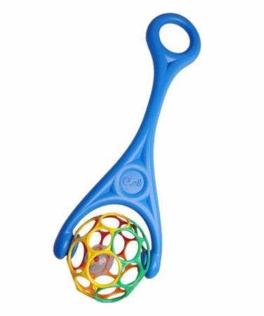 Купить Каталка Oball 2 в 1 цвет синий (8201091), Игрушки