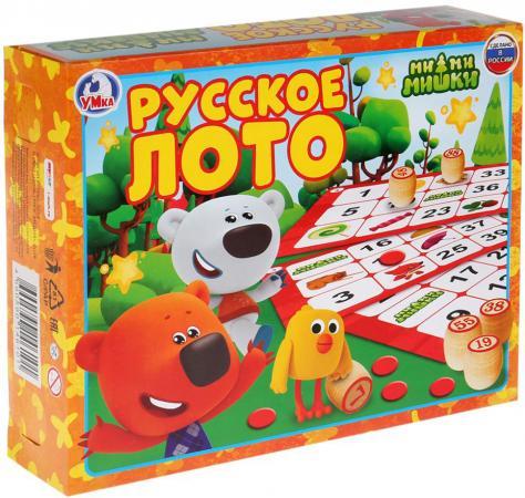 Настольная игра лото УМКА Мимимишки настольная игра stellar лото азбука 00908