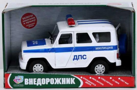 Машина инерц. полиция дпс, свет+звук, открыв.
