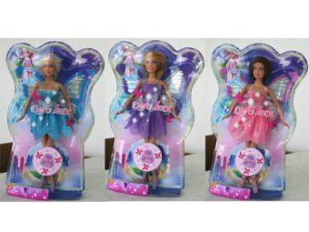 Кукла Defa Luсy «Фея», в асс-те 8135 кукла defa lucy модная white light blue 8316bl