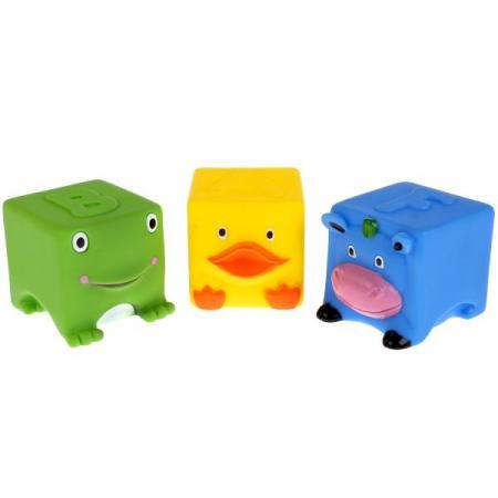 Игрушки пластизоль для купания Играем вместе 3 кубика (ABF) пищалка в сетке (русс уп) в кор.2*25шт игрушки пластизоль для купания играем вместе 3 кубика abf пищалка в сетке русс уп в кор 2 25шт